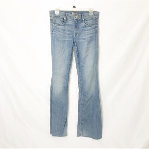 Mother Denim the Slacker flare jeans Cry 24 BB1